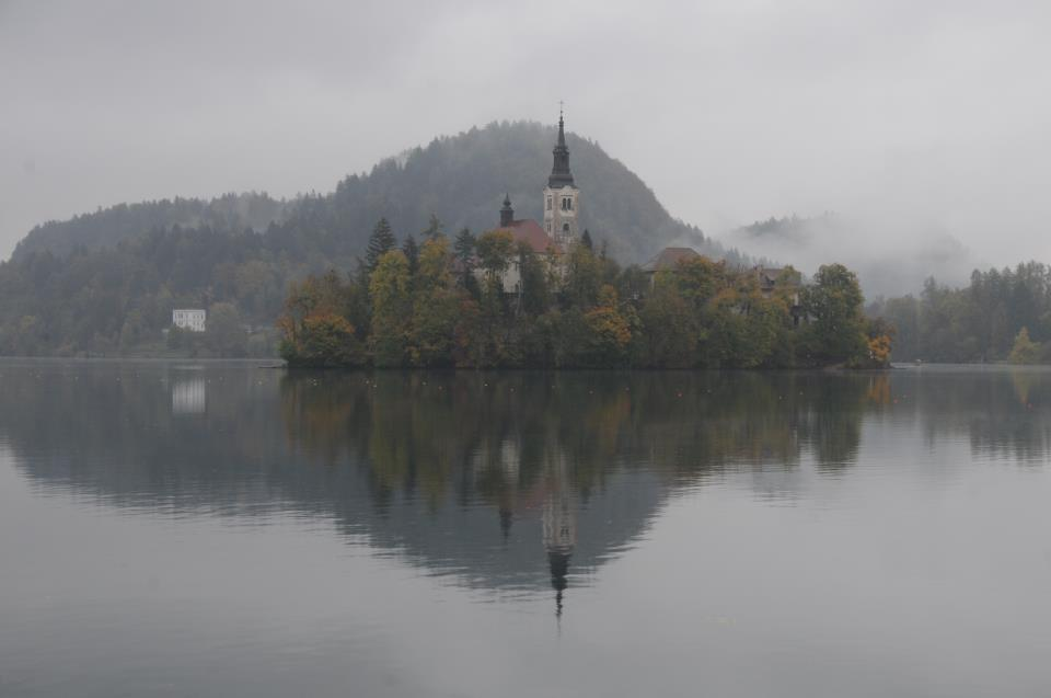 Island in Bled Slovenia