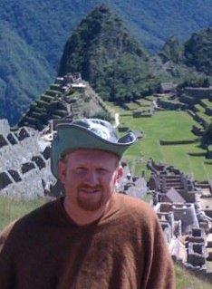 Joel Oleson in Machu Picchu