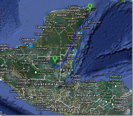 Road trip Cancun to Tikal