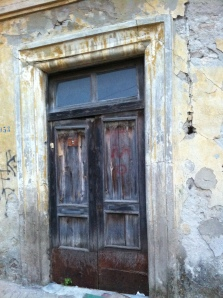 Old doorway Albania