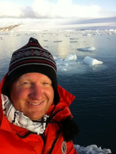 Antarctic Ice Field