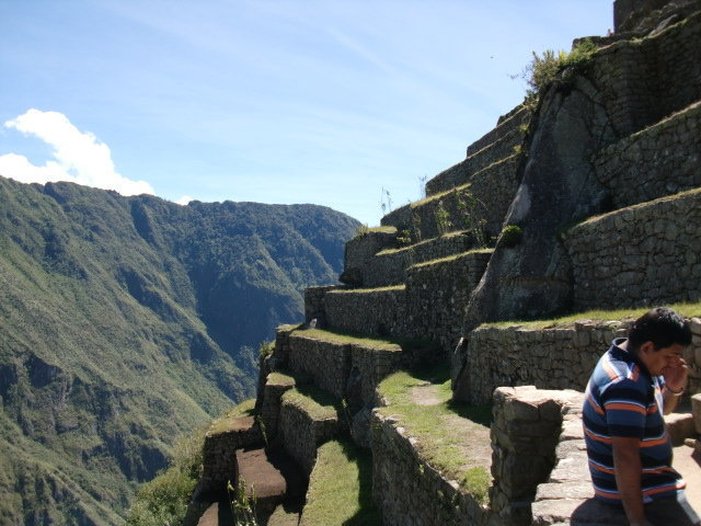 Ultimate Terracing at Machu Picchu