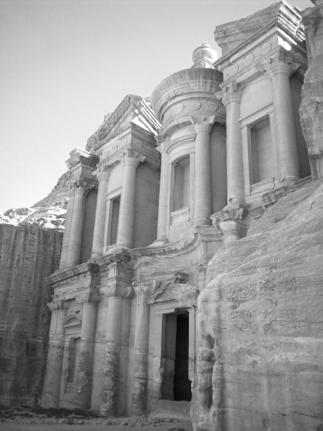 The Monastery at Petra Jordan