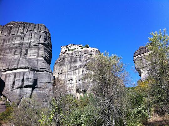 Greek Cliff Monasteries