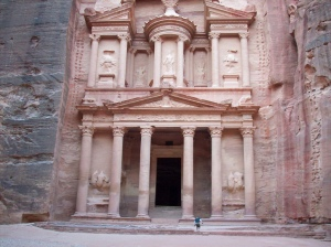 Petra Jordan the Treasury