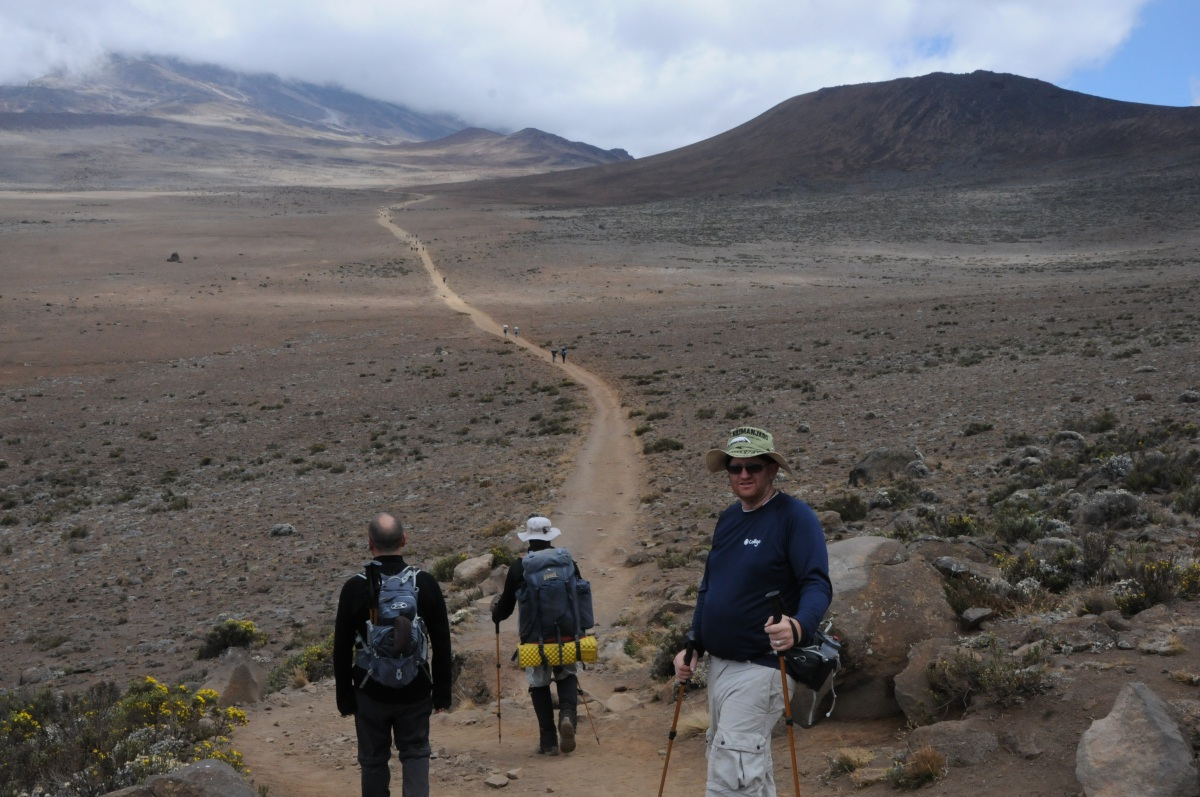 The Road to Uhuru... Mt Kilimonjaro