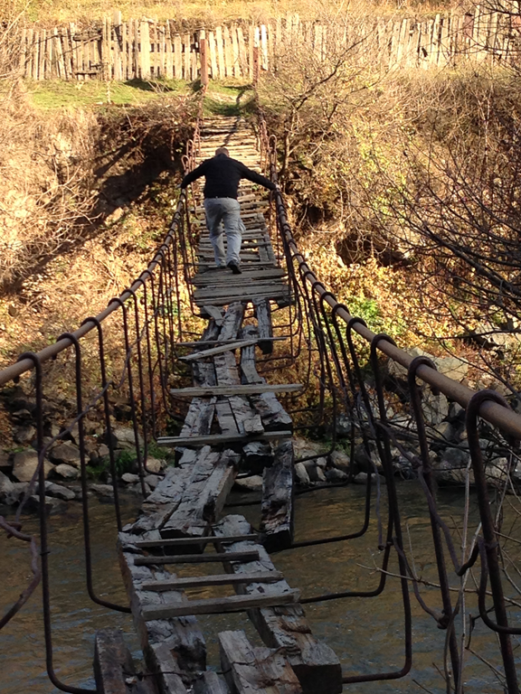 Crazy Foot bridge
