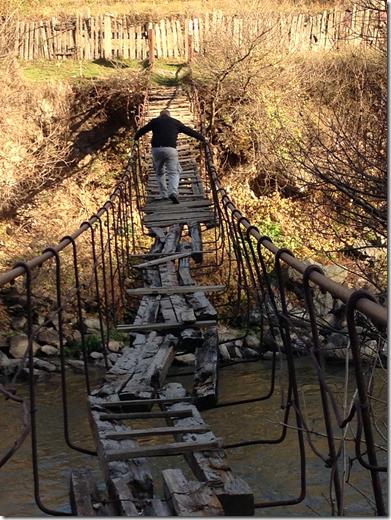 Rickety Old Foot bridge