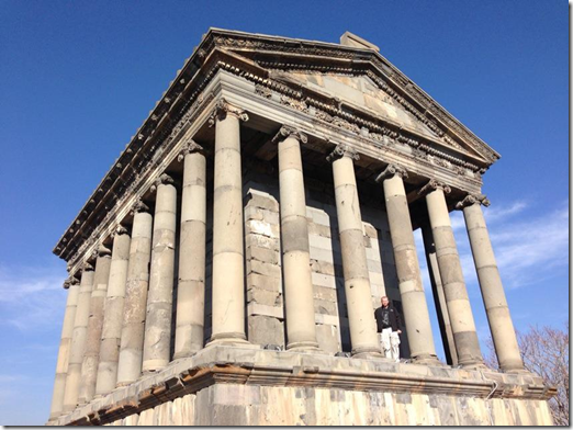 Garni Pagan Temple in Armenia