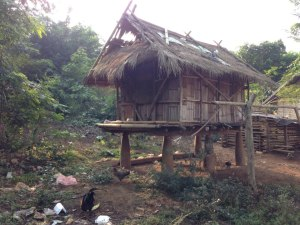 Tribal hut on B-52