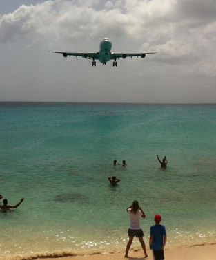 Beach Airplane