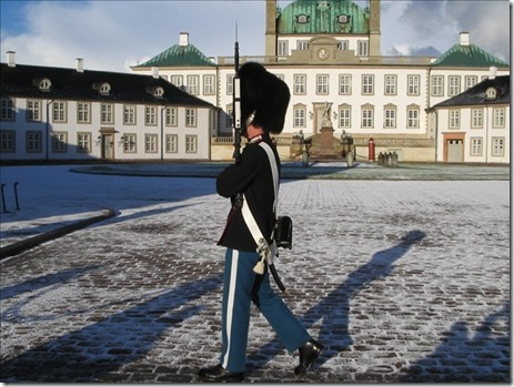 Amalienborg Palace Changing of the Guard