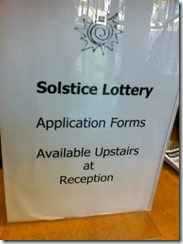 solstice lottery