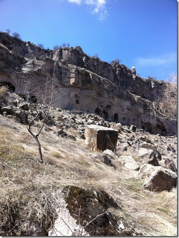 Ihlara valley cave churches