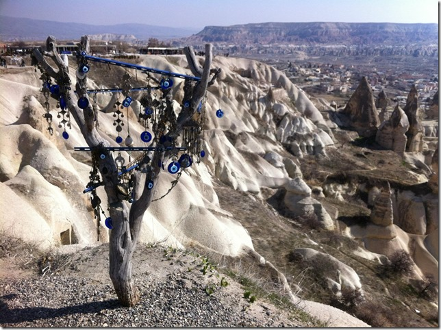 Cappadocia Central Turkey Valleys and the all seeing eye