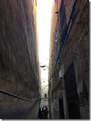 Narrow Alleyways