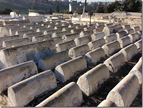 Jewish Cemetery in Fez Morocco