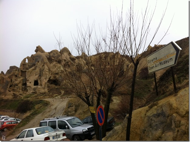 Goreme Open Air Museum Entrance
