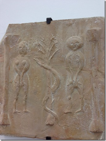 Adam and Eve Ancient stone