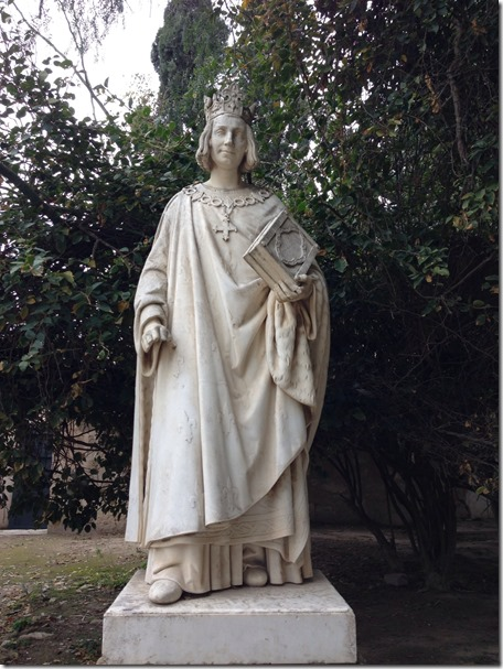 St Louis Statue in Carthage