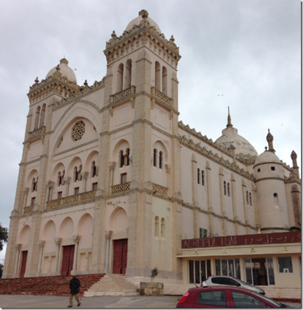 St Louis Cathedral in Carthage