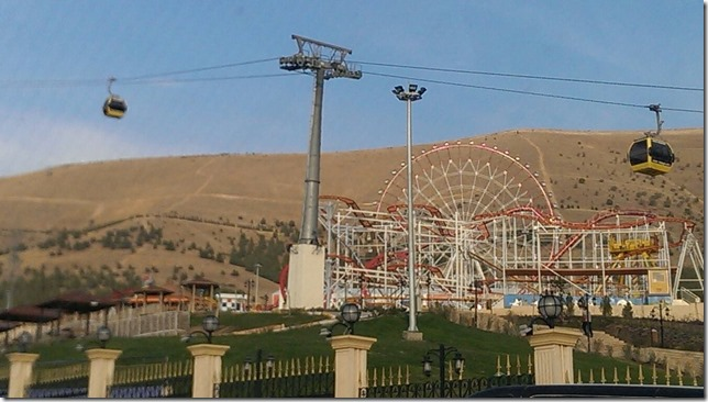 iraqi gondola and ferris wheel