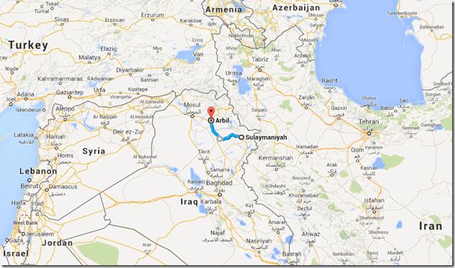 Iraq road map