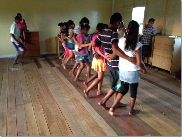 Guyana Ameridian Dancing