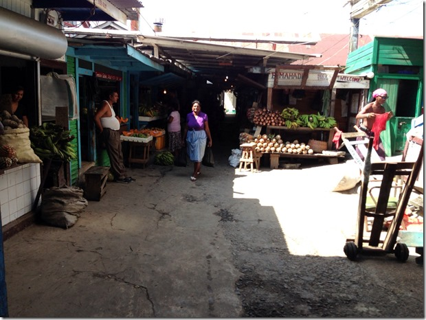 Starbroek Market Vegtables
