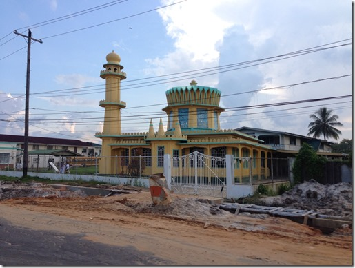 Guyana Hindu Temple and Mosque