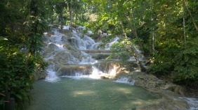 Dunner River Falls Jamaica