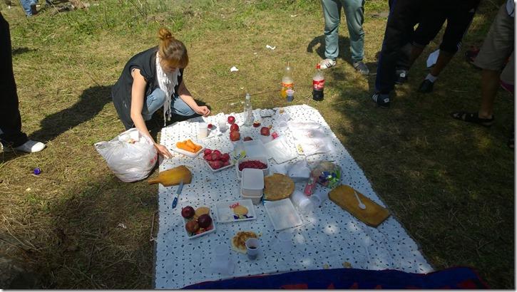 Kyrgyz picnic at Al Acha