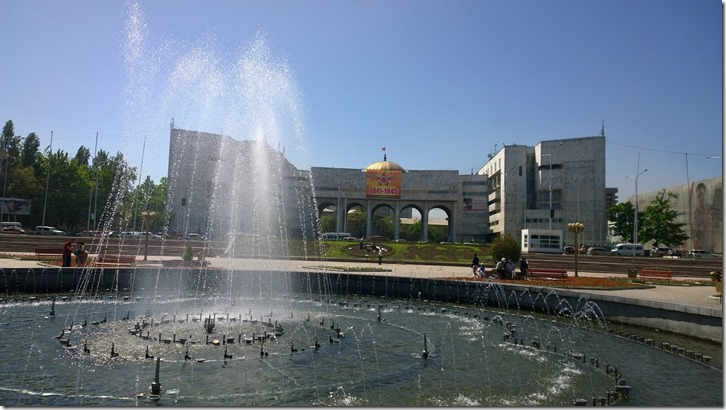 central square bishkek
