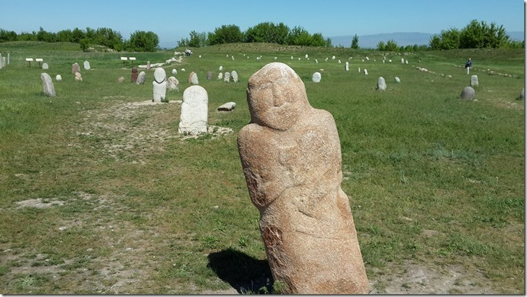 Burana Grave Markers