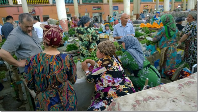 Khujand Tajikistan Market and Bazaar