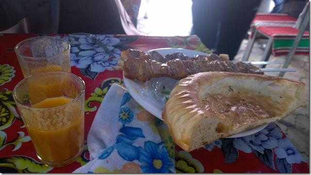 Tajikistan Lunch