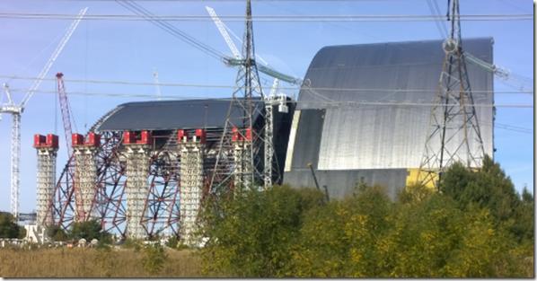Chernobyl Sarcaphagus
