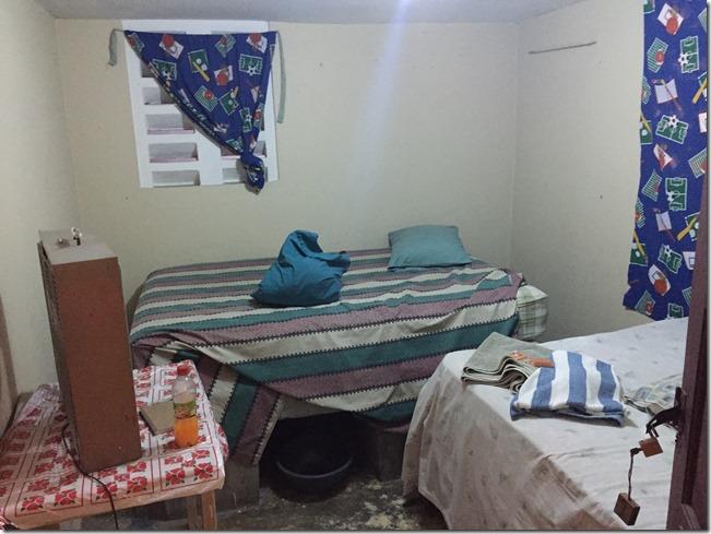 Haiti hotel room