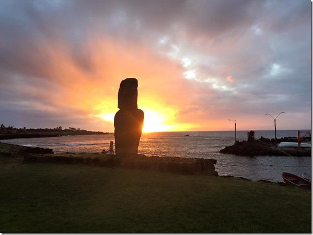 Easter Island Sunset - Joel Oleson