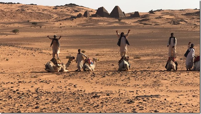 Camel Jockeys of Sudan