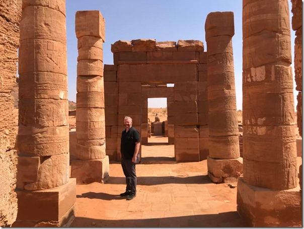 Nubian Columns in Sudan
