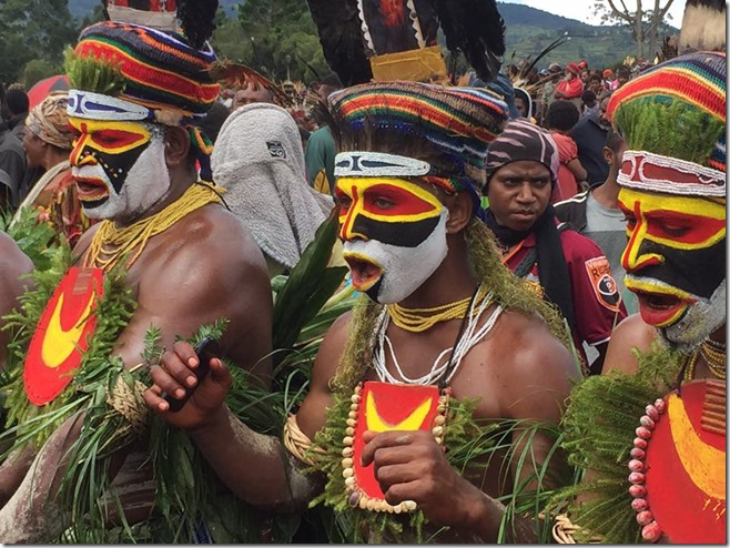 SingSing in Full Swing Mt Hagen Cultural Dance Festival