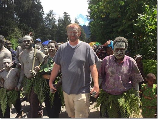 PNG Traditional Tribal Funeral March