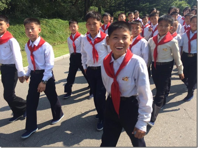 North Korean Happy Kids