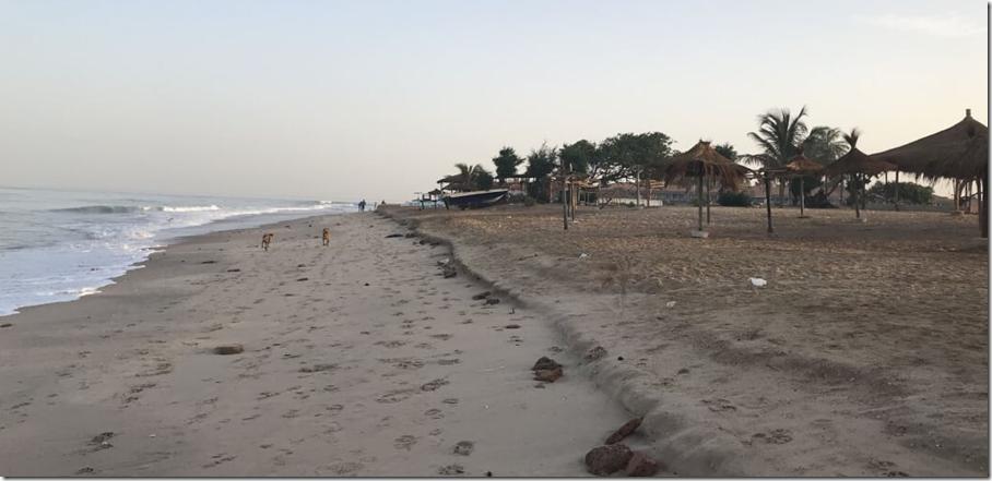 Senegambian beach