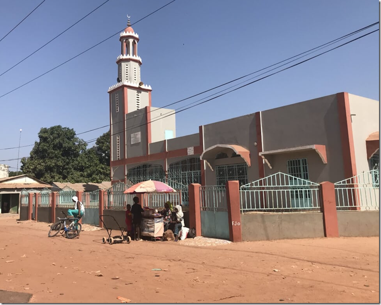 The Gambia mosque