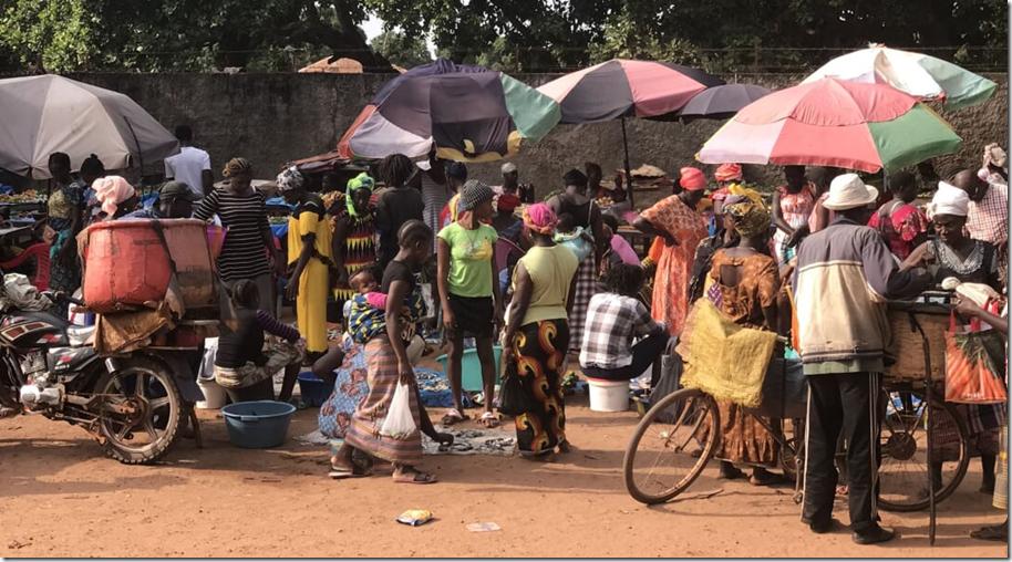 Sengalese Market