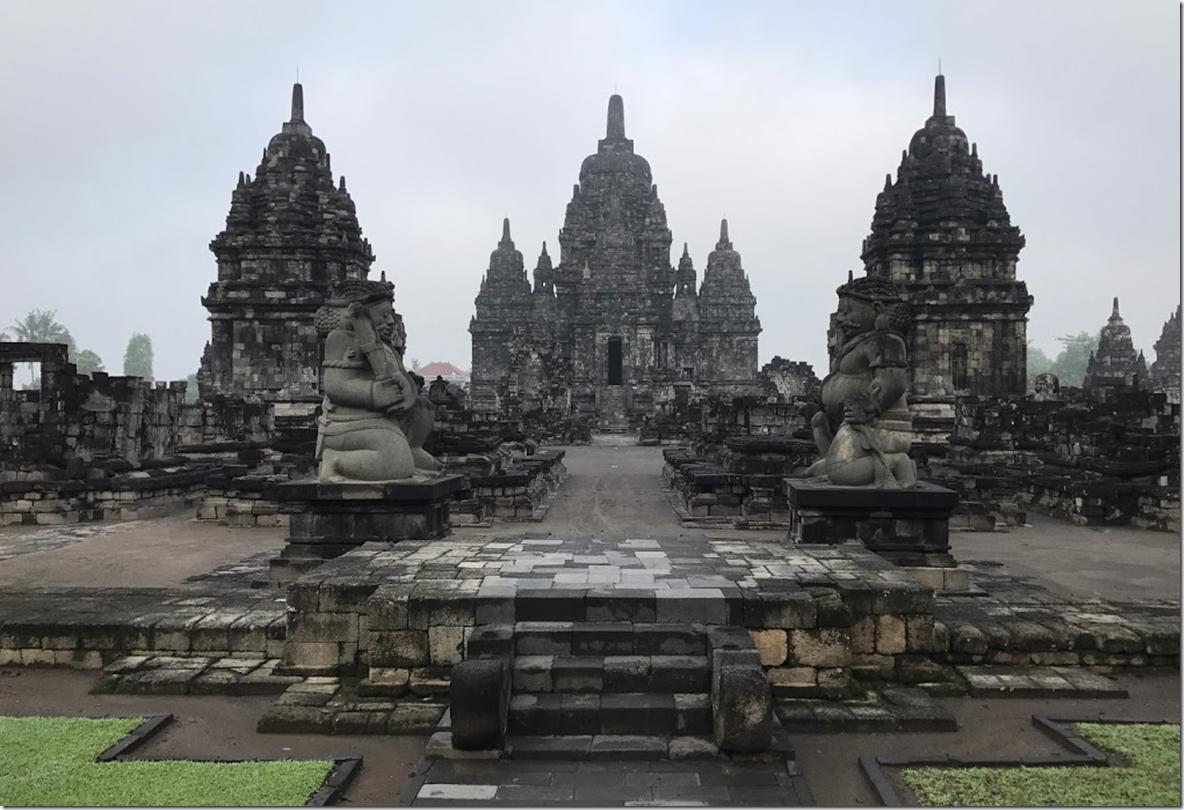 Massive Hindu Temple of Prambanan Yogyakarta