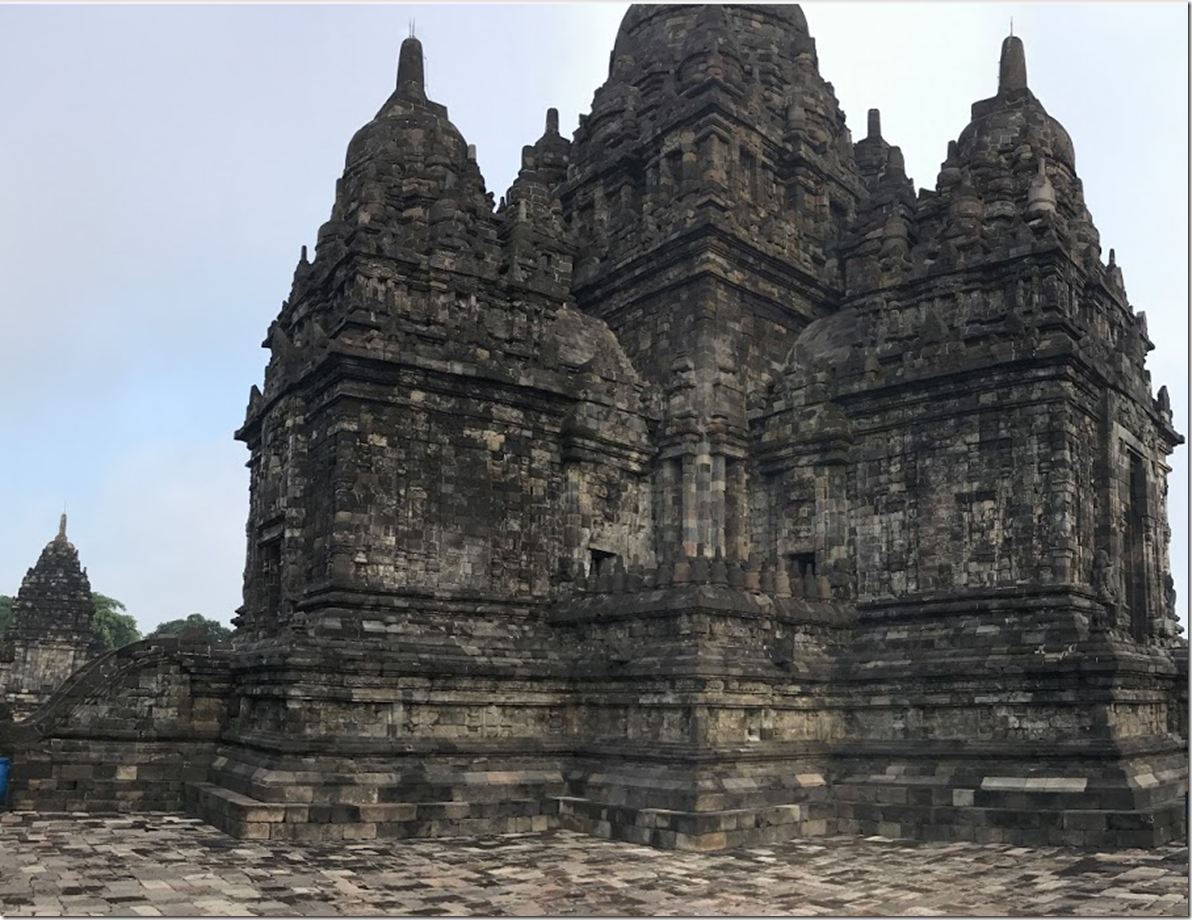 Massive Hindu Temple of Prambanan Yogyakarta temple of the gods