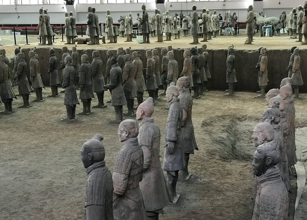Terra Cotta Warriors of Xi'an China – Warriors and Horses Guards of the Largest Tomb in the World